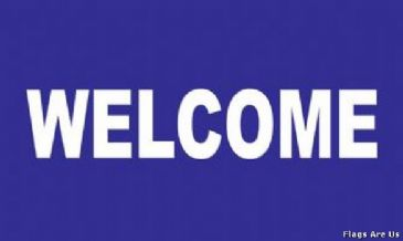 Welcome  (Purple)